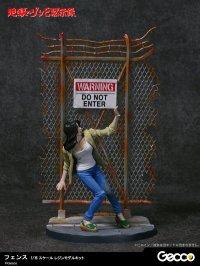 地獄のゾンビ黙示録 ジオラマコレクション ‐フェンス‐ 1/16スケール  レジンモデルキット